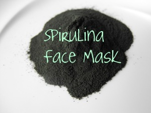spirulina face mask