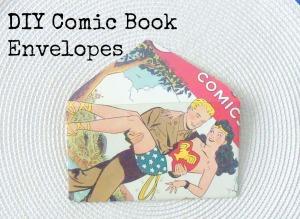 comic book envelopes