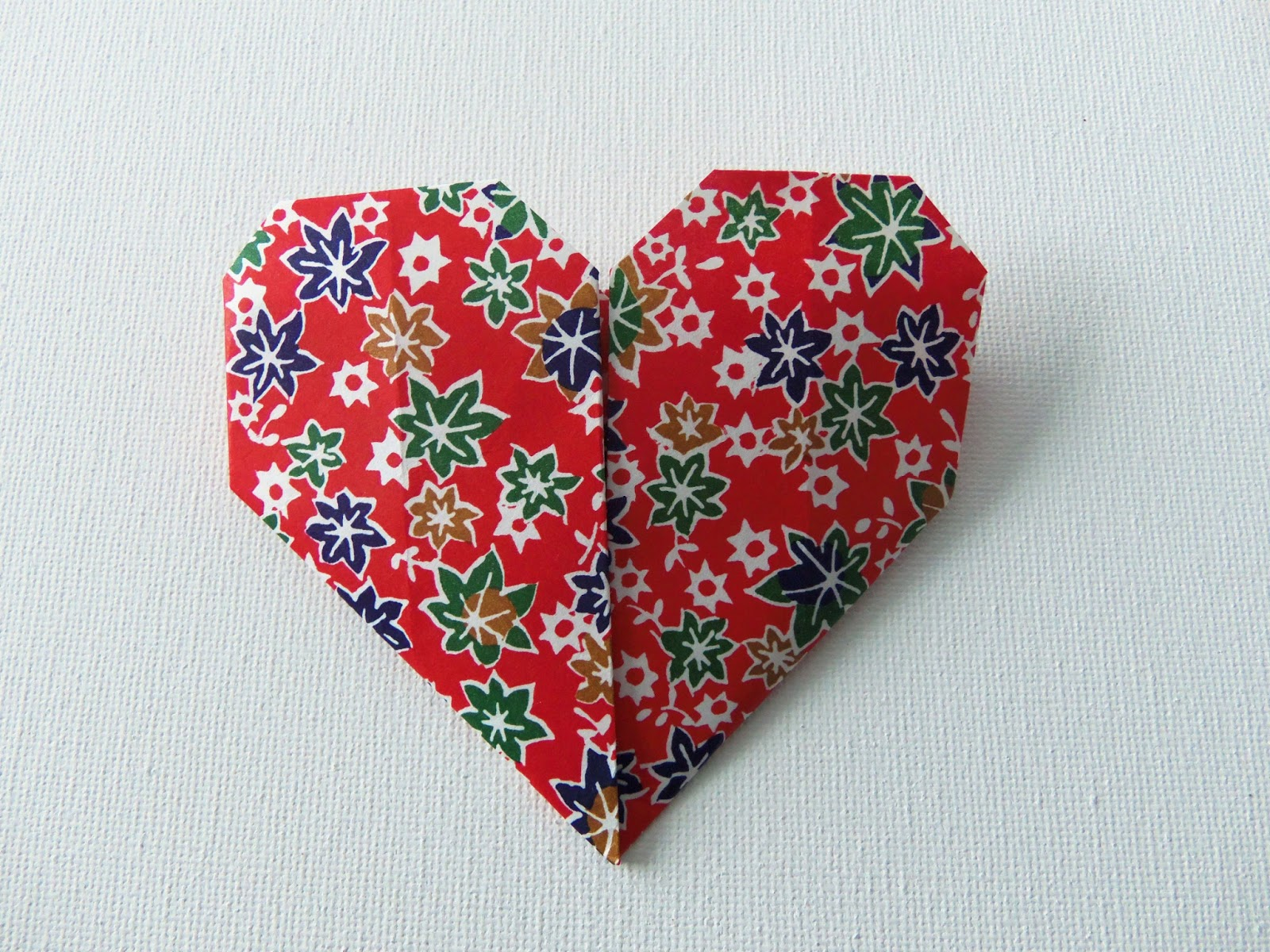 Easy Origami Hearts - Crafty Little Gnome - photo#38